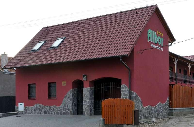 Penzion Albor v Čejkovicích