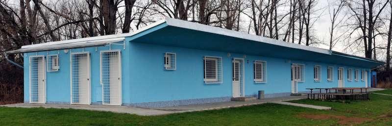 Rekonstrukce šaten FC Nesyt Hodonín
